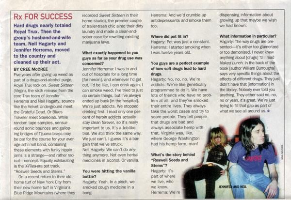 High Times Magazine 1997